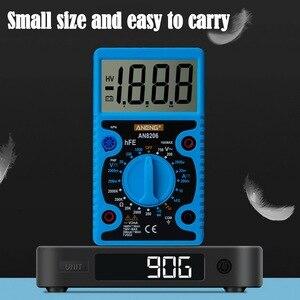 Image 5 - AN8206 /A830L Mini dijital multimetre LCD geniş ekran dalga çıkışı amper gerilim Ohm Tester aşırı yük koruması