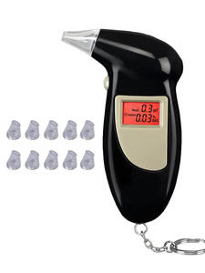 Detector Breathalyzer-Analyzer Test-Keychain Alcohol-Breath-Tester Professional Digital