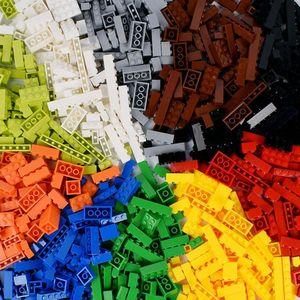 Image 3 - 1000pcs Classic Building Blocks MOC Bricks Set DIY Car Train City Creator Educational Toys for Children 9 Different Model Sizes