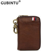 Brand Key Wallet Mini Coin Wallet Genuine Leather 2019 New Door Keys Housekeeper Organizer Purse Keychain Car Key Holder Case bentoy brand leather women purse trunk organizer key holder wallet hologram laser card holders small pocket bags key case