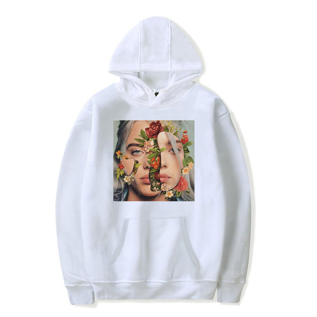 BILLIE EILISH THEMED HOODIE (10 VARIAN)
