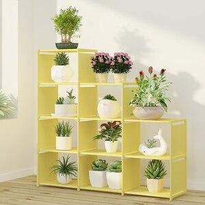 Image 4 - DIY montaż półka na książki włóknina regał magazynowy wymienny stojak na książki uchwyt organizer do suszenia prania półka ekspozycyjna do domu
