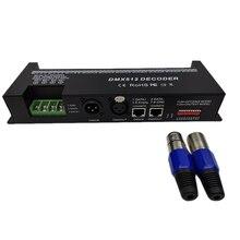 30 Channel RGB DMX512 Decoder LED Strip Controller 60A DMX Dimmer PWM Driver Input DC9-24V 30CH DMX Decoder Light Control