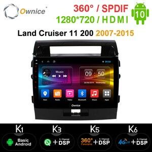 Image 1 - Ownice Android 10.0 Xe Ô Tô DVD Navi GPS Người Chơi Cho Xe Toyota Đất Tàu Tuần Dương 11 200 2007 2015 K3 K5 K6 DSP 4G SPDIF Đài Phát Thanh Đa Phương Tiện