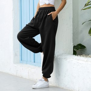 Women Casual Fashion Hip Hop Dance Sport Running Jogging Harem Pants Sweatpants Jogger Baggy Trousers Black/Gray/White