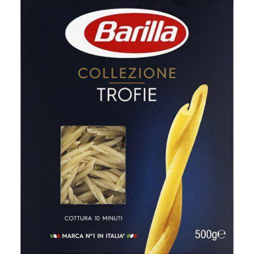 Barilla - Pâtes Alimentaires Trofie Liguri - La Boîte De 500g - (pour La Quantité Plus Que 1 Nous Vous Remboursons Le Port
