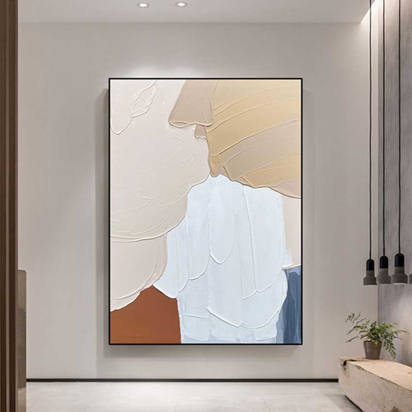 Wall Art Abstract Paintings Modern Oil Painting On Canvas Home Decoration Living Room Pictures Handpainted No Framed Hf0010 Art Abstract Paintings Oil Paintingpaintings On Canvas Aliexpress