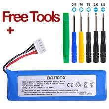 Batmax 1Pc 3.7V 3200mAh batterie GSP872693 01 + outils pour Bateria JBL retournement 4, retournement 4 édition spéciale