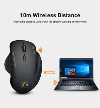 Wireless Mouse Gamer Computer Mouse Wireless Gaming Mouse Ergonomic Mause 6 Buttons USB Optical Game Mice For Computer PC Laptop 6