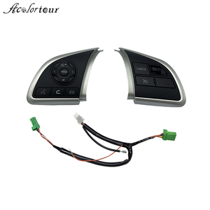 Image 1 - For Mitsubishi Outlander 2013 2014 2015 2016 2017 2018 Cruise Control Switch Steering Wheel Button Audio Android Player Switches