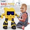 JJRC R17 Música Dança Robô RC Robô inteligente Para As Crianças Seguem Gesto Sensor IR Brinquedos Robo Robô Programável Robô Crianças