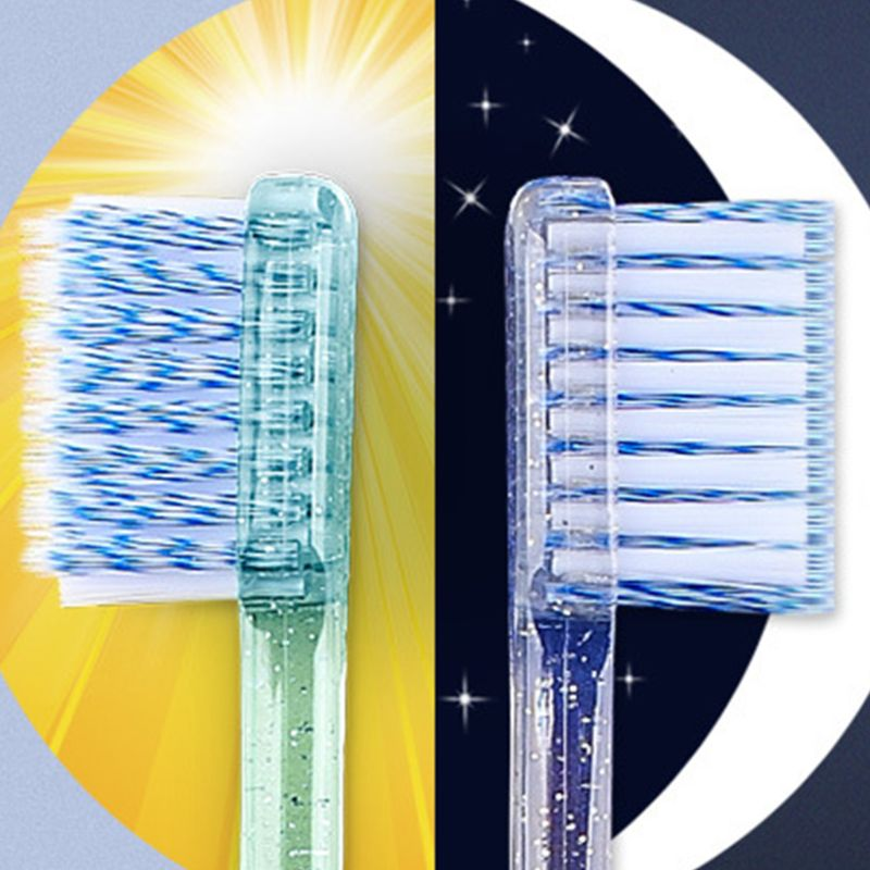 2Pcs/Set Adult Orthodontic Toothbrush U A Soft Trim Bristles Head for Braces Deep Cleaning Dental Teeth Whitening Oral Care 27RC image
