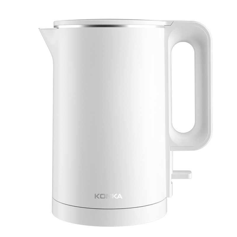 KONKA KEK-KM18 Smart Electric Kettle 6 Min Fast Boiling 1500W 1.7L Household 304 Stainless Steel Double Anti Hot Electric Kettle