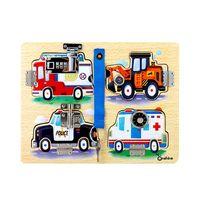 Wooden Montessori Children Cognitive Board Unlocking Education Toy Teaching Kids