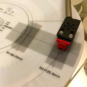 Image 5 - Professional LP Vinyl Pickup Calibration / Distance Gauge Protractor Adjustment Tool Adjustment Ruler Turntable Accessories