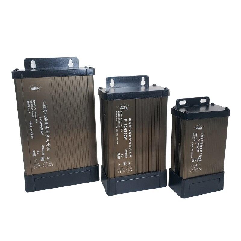 Led-treiber 12 24 V Netzteil Adapter Beleuchtung Transformatoren DC 12V 24 V Power 5A 8A 10A 15A 20A Netzteil Outdoor Regen