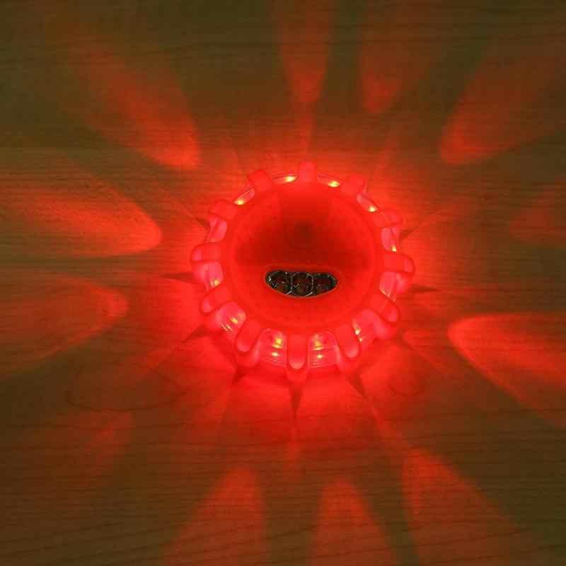 Luz de emergencia LED para coche luz estroboscópica intermitente luz de advertencia luz de Politie techo lámpara de seguridad de carretera luces estroboscópicas de advertencia para coche vehículo