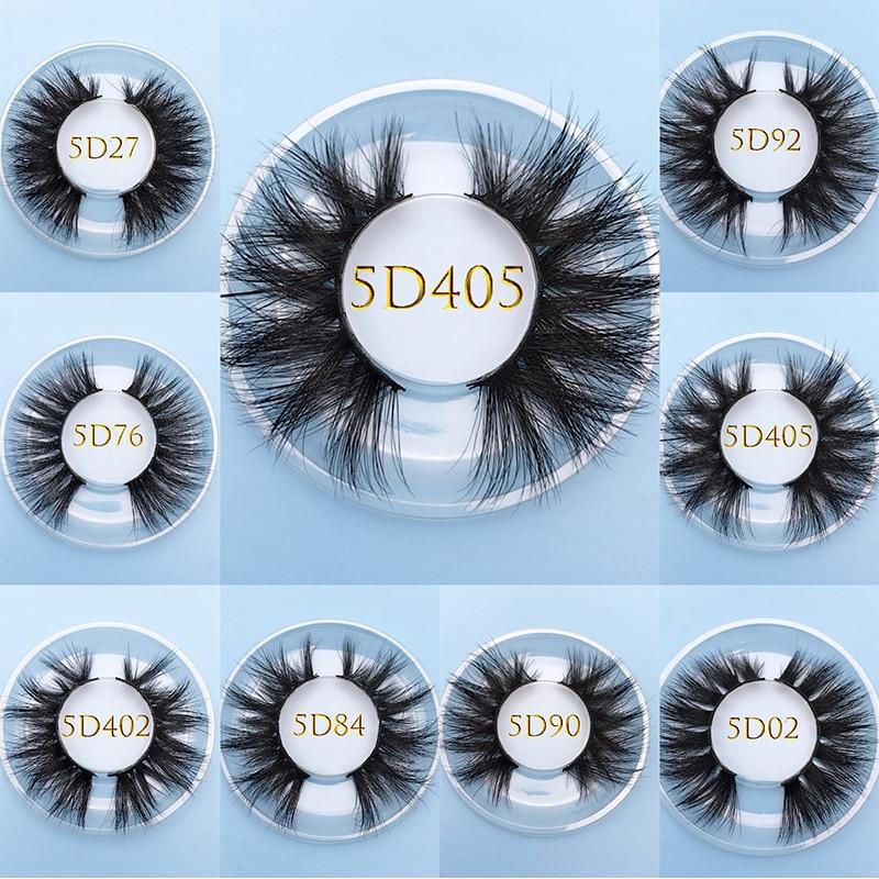 MIKIWI Custom Square Box 5D Mink 100% Cuelty Free Dramatic Luxury Makeup Eyelashes Handmade Natural Thick Long False Eyelashes