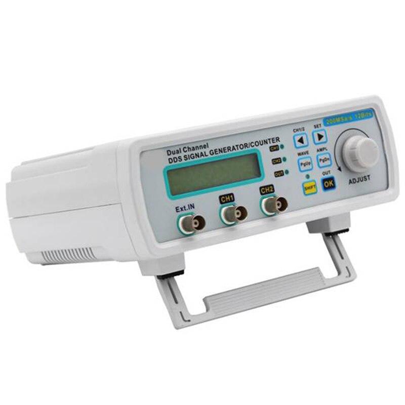 20 МГц DDS двухканальный генератор сигналов Генератор сигналов произвольной формы 200MSa/S 12 битов Частотный метр