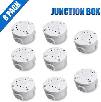 цена на Aluminum Bracket Junction Back Box Onduit Base for OHWOAI Bullet Cameras, WaterProof Junction Box for IP 8 Pack Electric Enclosu