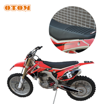 OTOM Motorcycle Seat Cover Waterproof Soft Sleeve For HONDA YAMAHA SUZUKI KAWASAKI KTM Dirt Bike Off Road Motocross