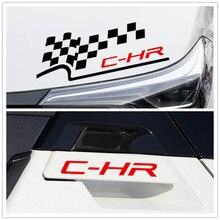 Автомобильные наклейки с флагом, фары, зеркала заднего вида, дверная ручка для Toyota CHR vinyl LS D20