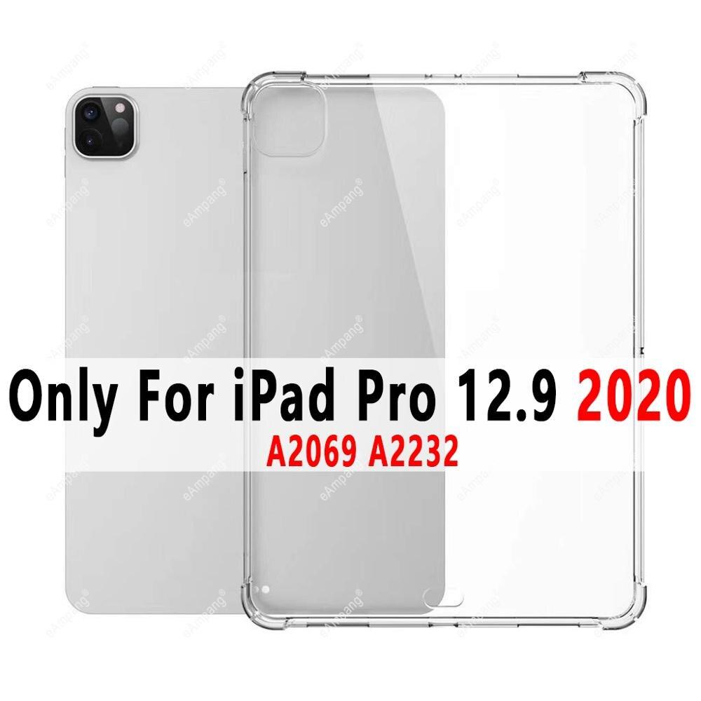 iPad Pro 12.9 2020 Green Soft Silicone Case For iPad Pro 12 9 2015 2017 2018 2020 Cover Ultra Slim A1584