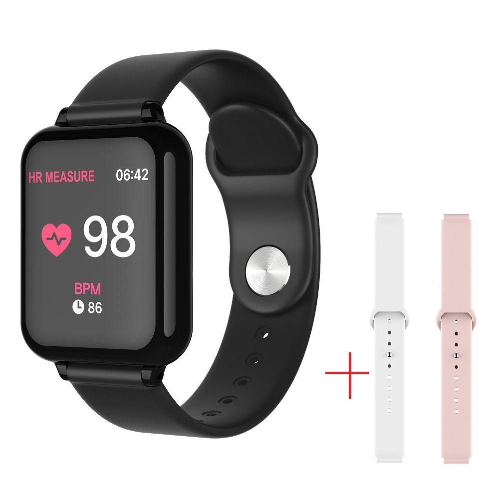 2019 SENBONO B57 Smart Watch Waterproof Sports Heart Rate Monitor Blood Pressure Smartwatch For Women Men Kid Android IOS Iphone