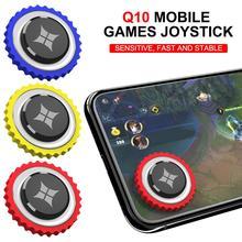 Q10 мини мобильные игры джойстик для Мобильные телефоны Android IOS компьютер круглый универсальный игровой джойстик Присоска на экран контроллер
