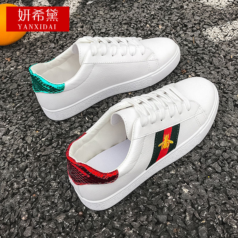 White Shoes Female Students 2020 Spring And Summer New Bees Xiu Xian Ban Shoes Women Sneakers Luxury Shoes Women Designers