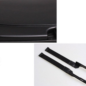 Image 5 - 1 unidad café negro multifunción General asiento de coche placa trasera 440g bandeja de almacenamiento residuos soporte de bebida coche nuevo stying