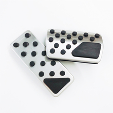 цена на Car Pedal Protection Cover Auto Pedals for Jeep Compass Liberty Patriot for Dodge Journey JCUV Fiat Freemont Auto Accessories