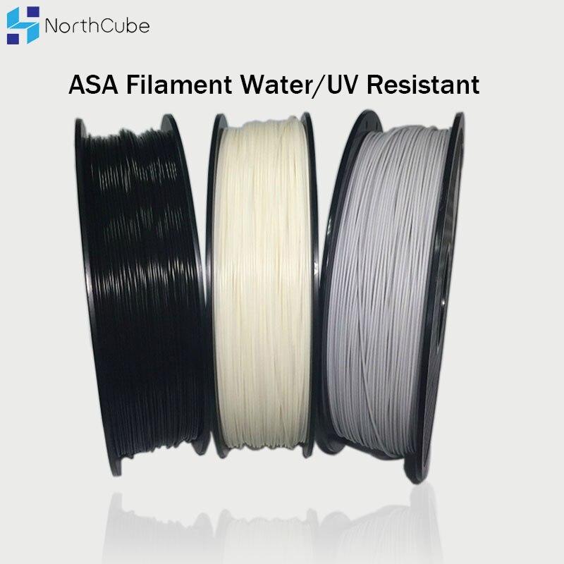 Нить для 3D-принтера, Внешняя защита от воды/ультрафиолетовых лучей, 1,75 мм, материал для 3D-принтера, более высокая жесткость, чем ABS