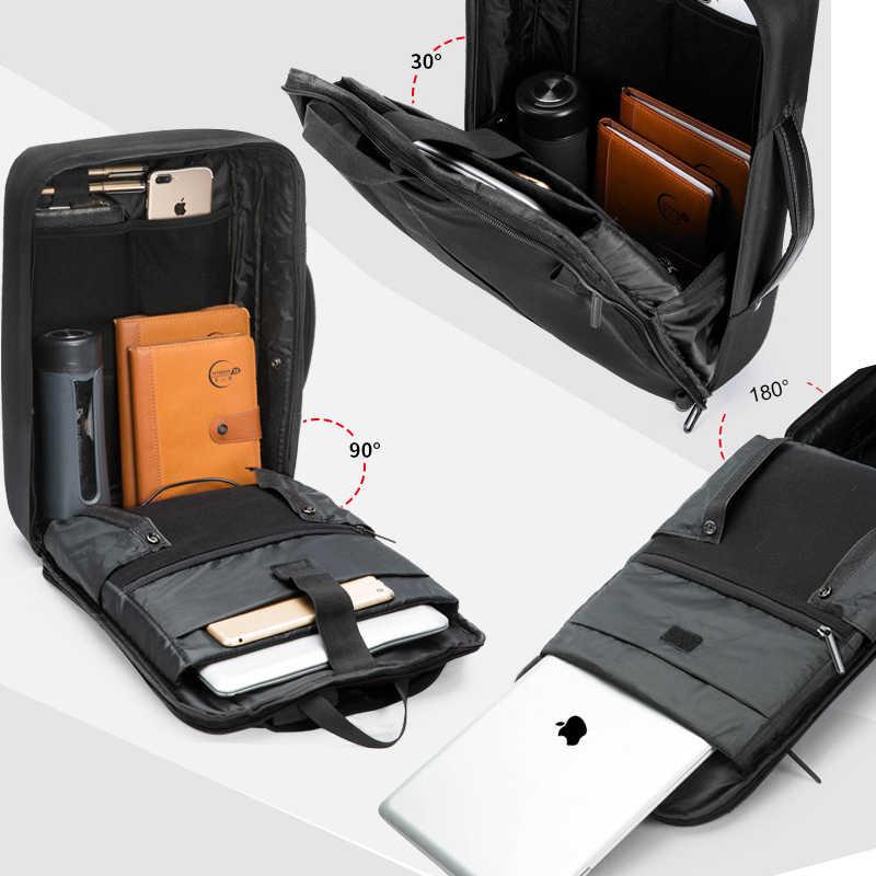 Chống Trộm Sạc USB Nam Lưng Dành Cho Laptop 15.6 Inch Nam Kinh Doanh Thời Trang Tin Nhắn Ba Lô Du Lịch Nam Mochila
