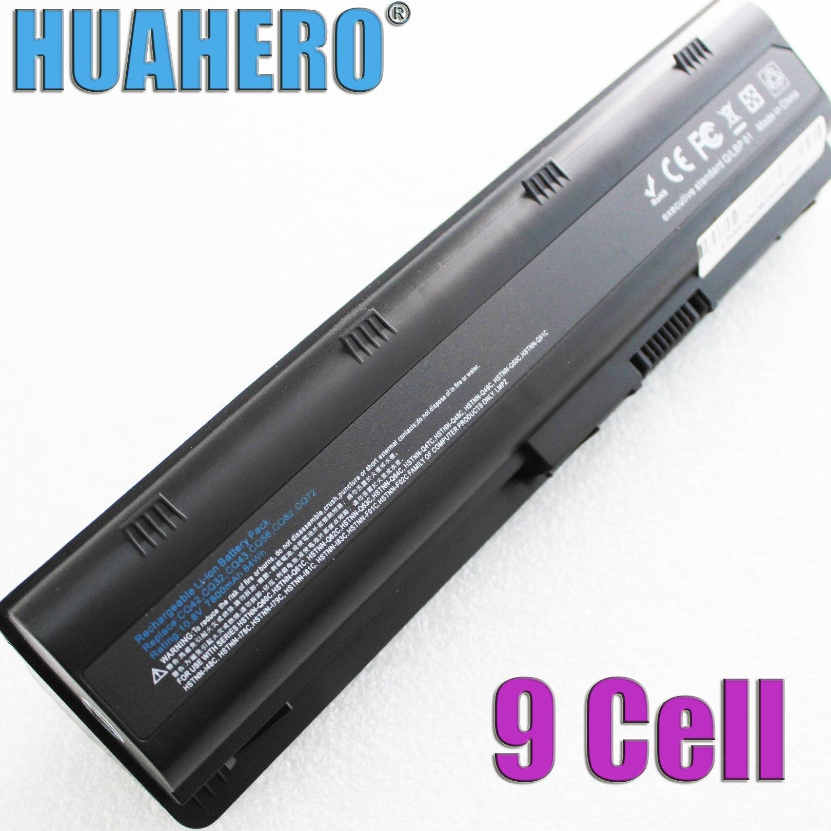 Аккумулятор HUAHERO MU06 MU09 для HP Pavilion g4 g6 g7 CQ32 CQ42 CQ62 CQ72 DM4 G32 G42 G62 G56 G72 HSTNN CBOX Q60C CB0W 586006-321