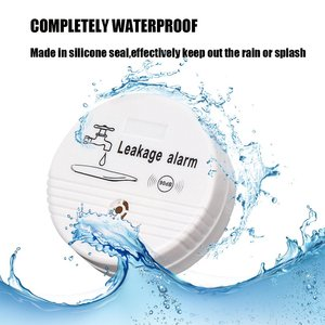 Image 2 - 4pcs น้ำรั่ว Sensor 85dB น้ำระดับนาฬิกาปลุกแบตเตอรี่น้ำระบบรักษาความปลอดภัย