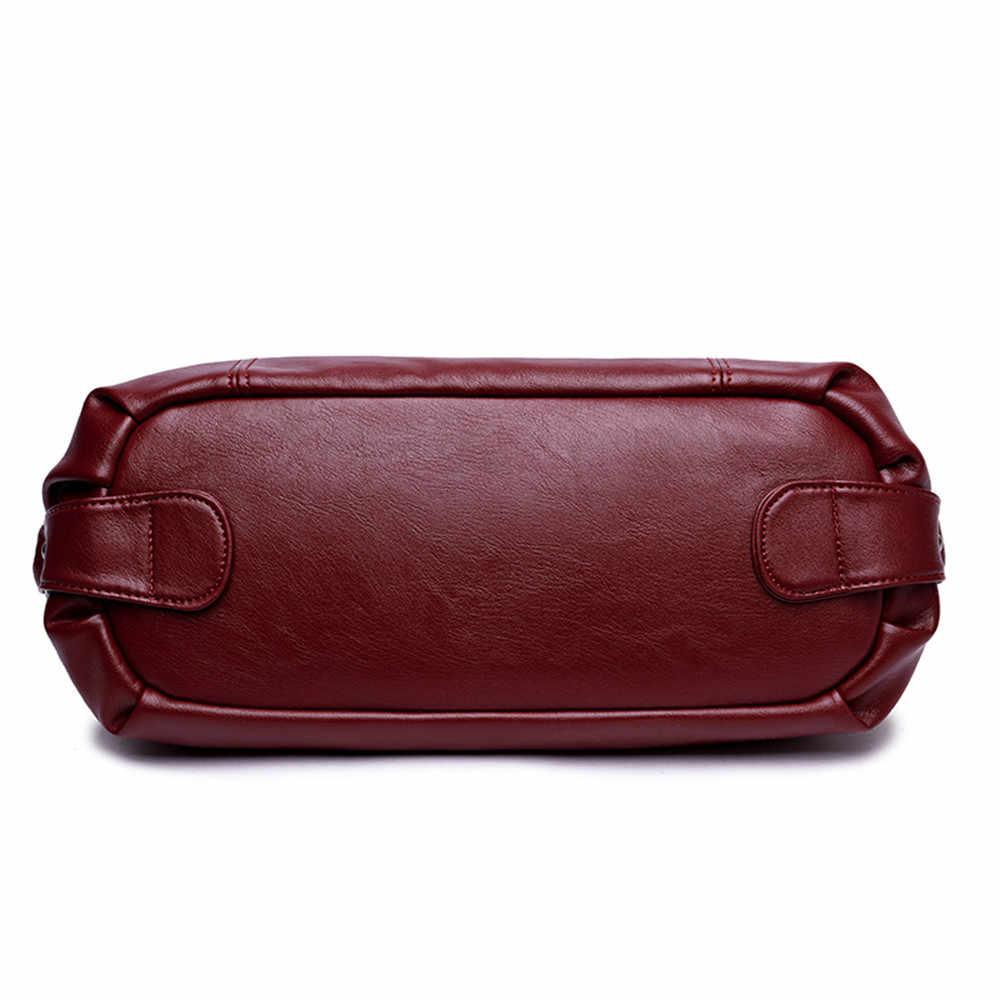 Genuine Leather Tassel Luxury Handbags Women Bags Designer Handbags High Quality Ladies Crossbody Hand Tote Bags For Women 2019