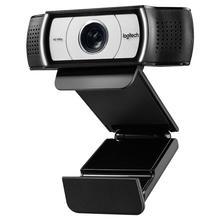 100% الأصلي لوجيتك C930c HD كاميرا ويب الذكية 1080P كاميرا ويب مع غطاء ل ماوس USB للكمبيوتر كاميرا فيديو 4 الوقت التكبير الرقمي كاميرا الويب
