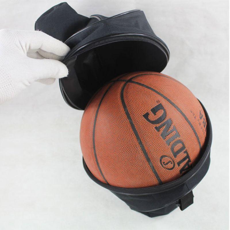 Universal Sport Bag Basketball Ball Football Volleyball Backpack Handbag Round Shape Adjustable Shoulder Strap Knapsacks Storage