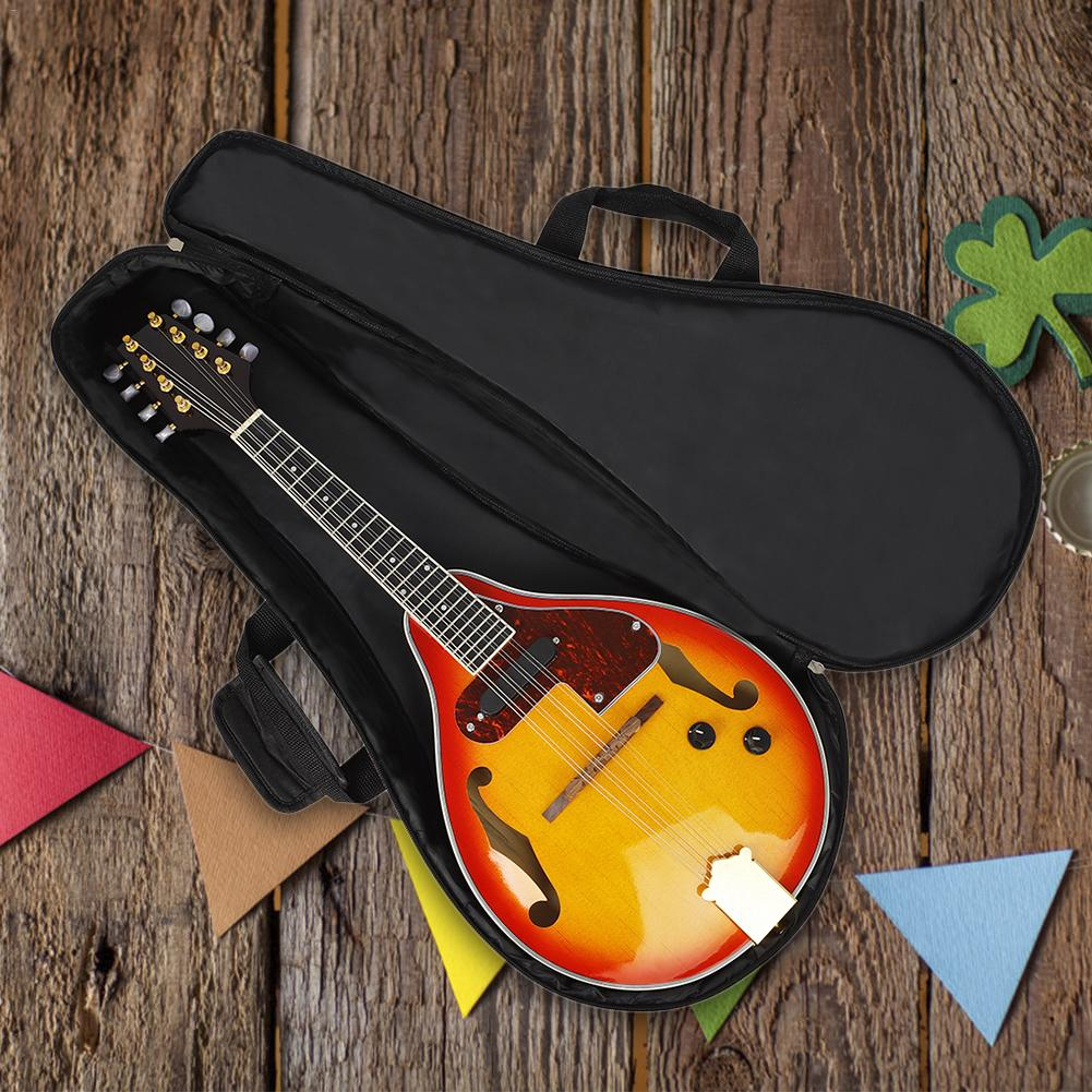 Mandolin Bag Thickened Cotton Portable Dual-use Mandolin Bag Musical Instrument Accessories For Music Lovers Perfect Gift