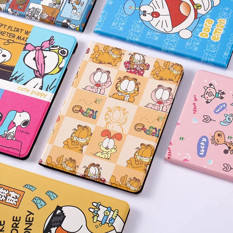Ultra Slim Cartoon Pattern PU Leather Case For Ipad 7 7th 10.2