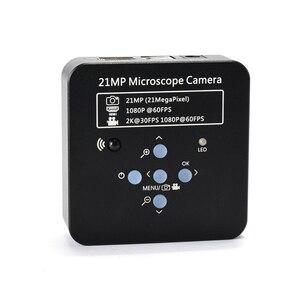 Full HD 1080P 60FPS 2K 21MP HDMI USB промышленный электронный цифровой видео микроскоп камера nifier для телефона ЦП Набор для ремонта плат