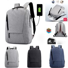 Teenagers Laptop Anti Theft Travel bag Backpack usb charging Schoolbag Men Mochila male Bags Backpack School Backpacks(China)