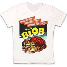 El Blob ciencia ficción Alien Horror cartel de película Retro Vintage Unisex camiseta 1235