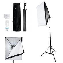 Софтбокс VBESTLIFE 50*70 см, 2 м, светильник для фотосъемки, 135 Вт, комплект лампочек с европейской вилкой, 220 В, для фотостудии