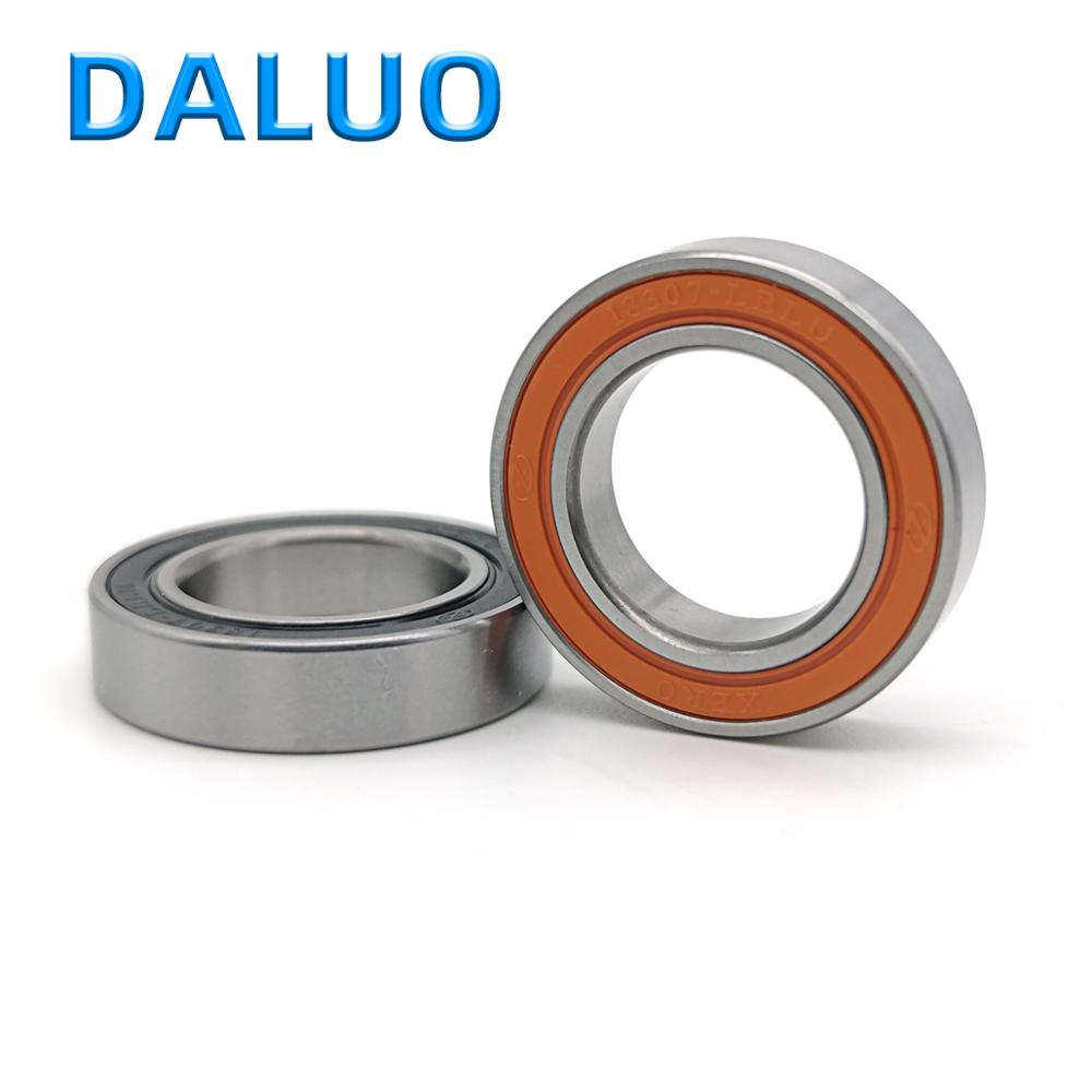 2PCS DALUO 18307-LBLU 18X30X7 18307 18307-2RS 6903/18 MR18307 18307RS ABEC-3 Single Row Deep Groove Ball Bearings