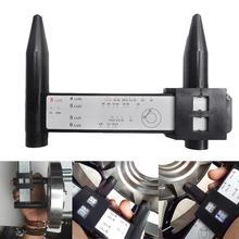 Универсальный 4, 5, 6, 8 отверстий, наконечник для автомобильных колес, рисунок, измерительный Калибр диаметра Болтовой окружности, инструмент, профессиональные автомобильные аксессуары
