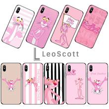 Cartoon Cute Pink panther Phone Case For iphone 5 5s 5c se 6 6s 7 8 plus x xs xr 11 pro max panther page 8