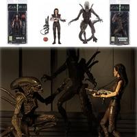 Original NECA Alien Series 14 Ripley 8 Resurrection Xenomorph WarriorAction Figure Model Toys Doll For Gift