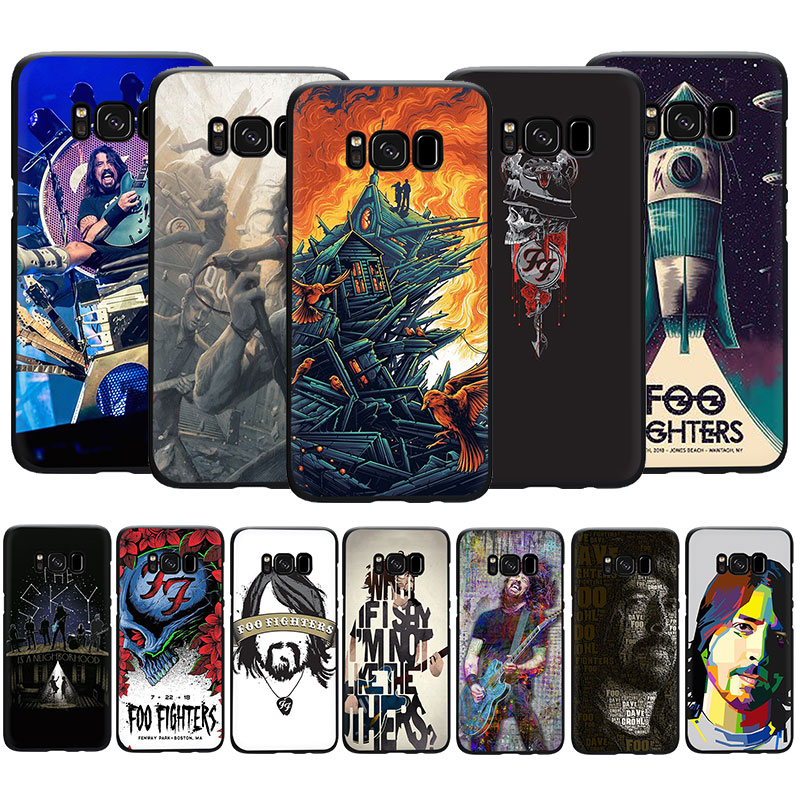 EWAU Foo Fighters Soft TPU phone cover case for Samsung Galaxy S6 S7 Edge S8 S9 S10 Plus Note 10 8 9 M10 20 30 40 image